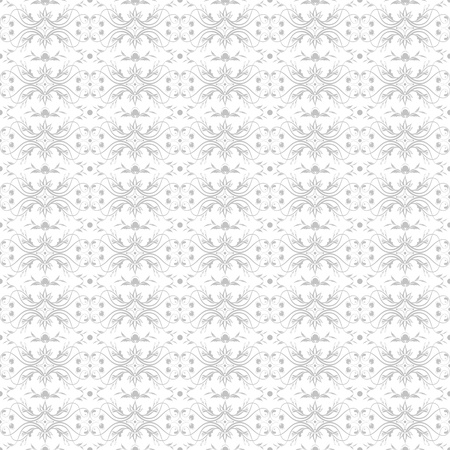 Beautiful background of seamless floral pattern Stock Vector - 12636347