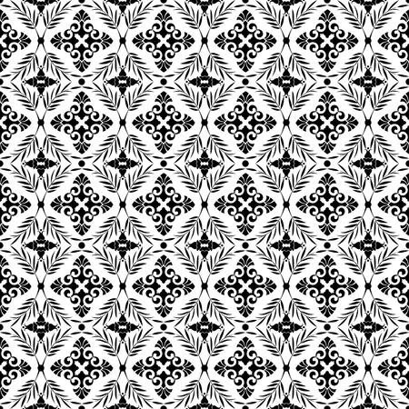Beautiful background of seamless floral pattern Stock Vector - 13077806