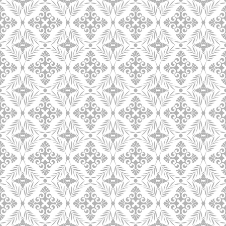 Beautiful background of seamless floral pattern Stock Vector - 13077799