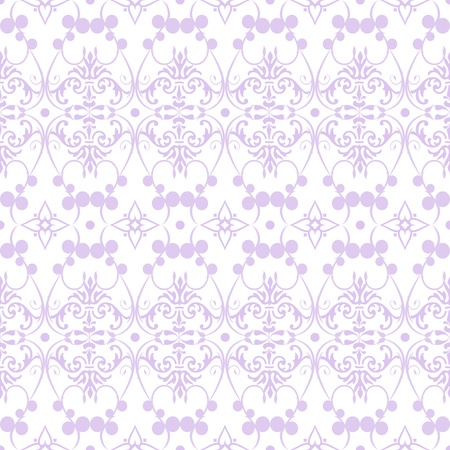 Beautiful background of seamless floral pattern Stock Vector - 13220192