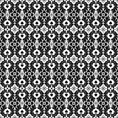 Beautiful background of seamless floral pattern Stock Vector - 13273025