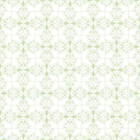 Beautiful background of seamless floral pattern Stock Vector - 13388229