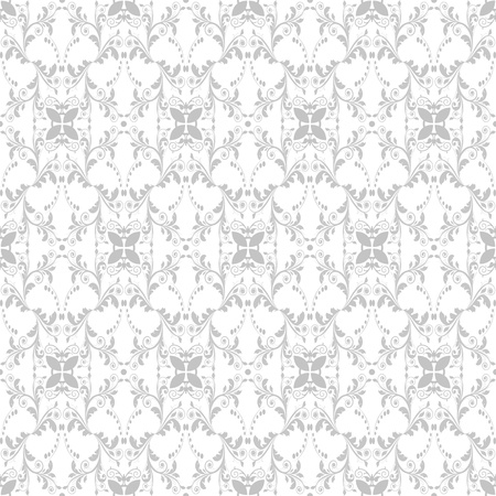 Beutiful background of seamless floral pattern