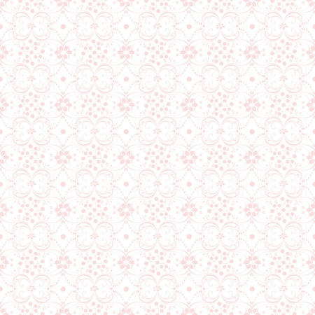 Beautiful background of seamless floral pattern Stock Vector - 13760157