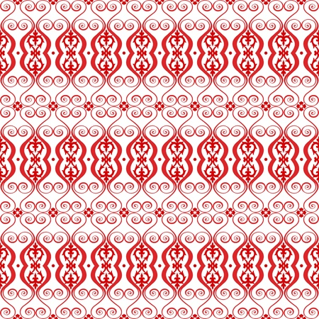 Beautiful background of seamless floral pattern Stock Vector - 13778050