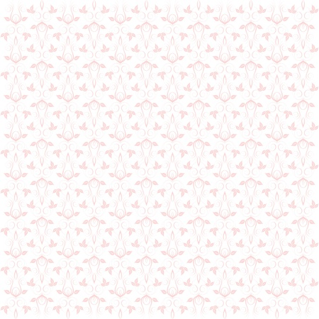 Beautiful background of seamless floral pattern Stock Vector - 13964650