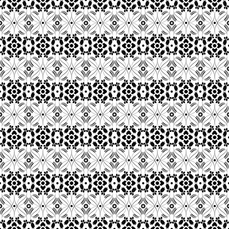 Beautiful background of seamless floral pattern Stock Vector - 13970521