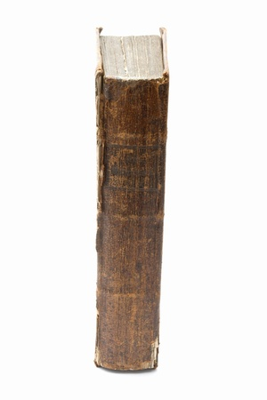 Old book isolated on white background Stock Photo - 14053968