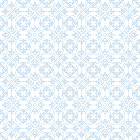 blue stripes: Beautiful background of seamless floral pattern