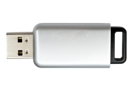 USB Flash Drive isolated on white background Reklamní fotografie