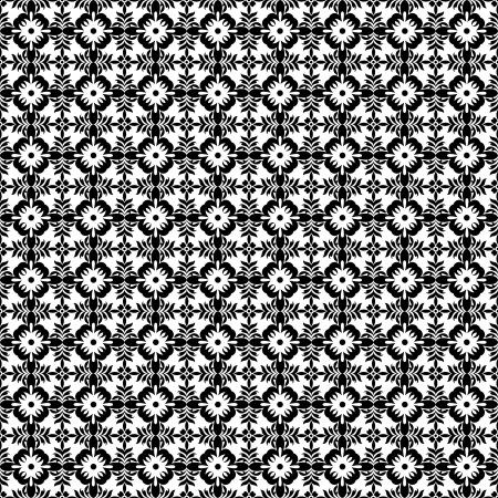 Beautiful background of seamless floral pattern Stock Vector - 14464550