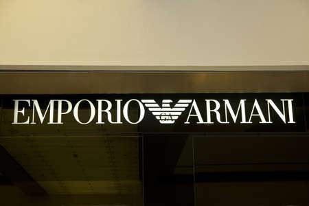 EMPORIO ARMANI fashion shop in Hong Kong