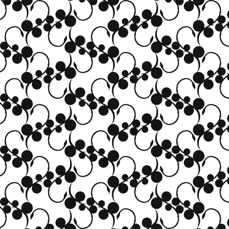Beautiful background of seamless floral pattern Stock Vector - 15248539