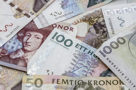Swedish money photo