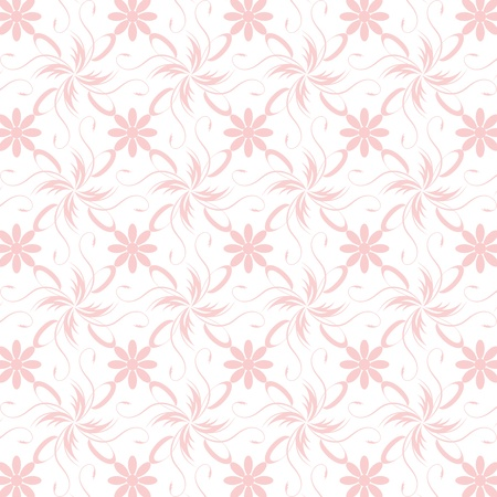 Beautiful background of seamless floral pattern Stock Vector - 15439153