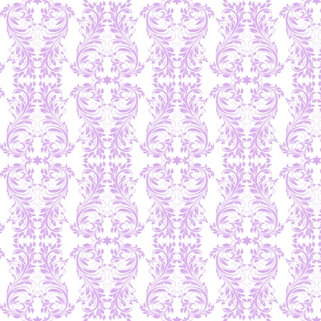 Beautiful background of seamless floral pattern Stock Vector - 15581687