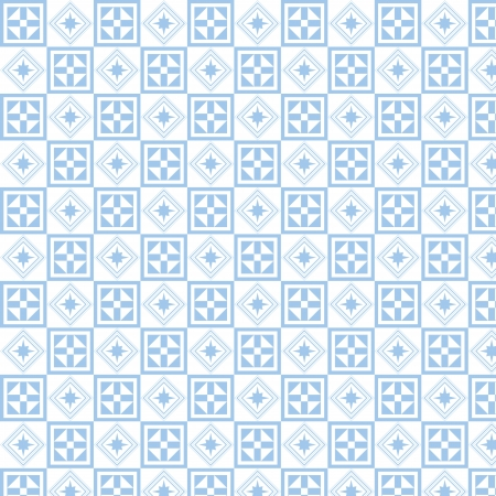 Beautiful background of seamless geometry pattern Vector