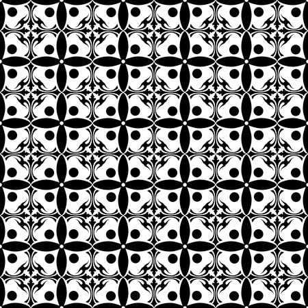 Beautiful background of seamless floral pattern Stock Vector - 15714724