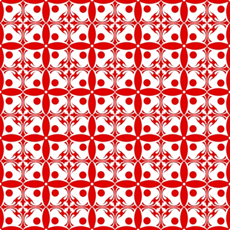 Beautiful background of seamless floral pattern Stock Vector - 15714720