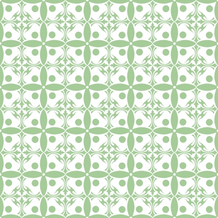 Beautiful background of seamless floral pattern Stock Vector - 15714716