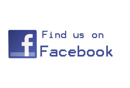 Facebook -  Find us on Facebook