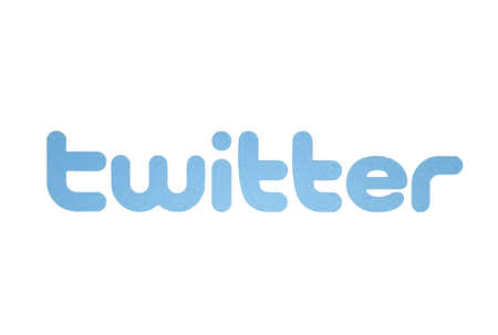 Twitter logo displayed on a computer screen Stock Photo - 16532505