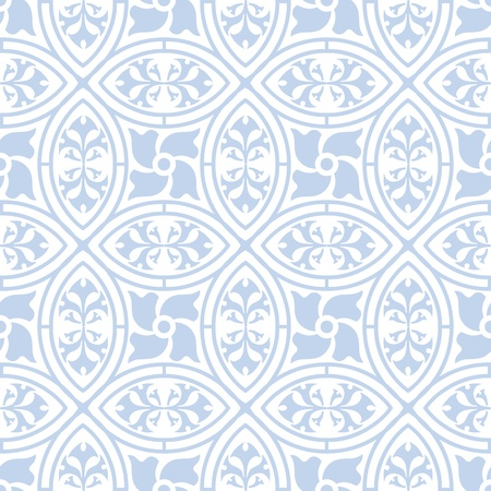 Beautiful background of seamless floral pattern Stock Vector - 16604953