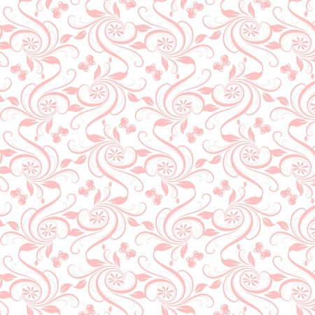 Beautiful background of seamless floral pattern Stock Vector - 16710814