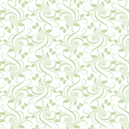 Beautiful background of seamless floral pattern Stock Vector - 16710818