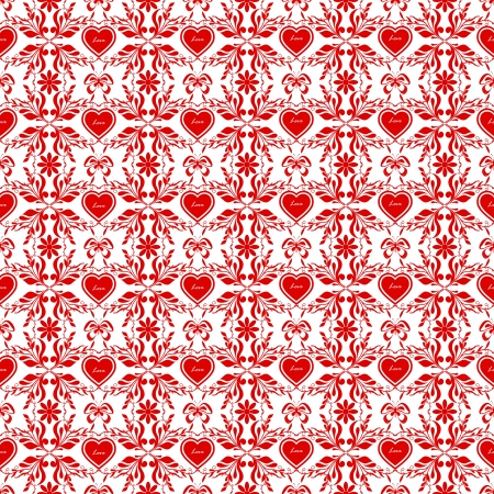 Beautiful background of seamless floral pattern Stock Vector - 16850672
