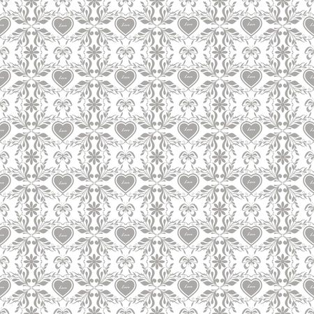 Beautiful background of seamless floral pattern Stock Vector - 16850664