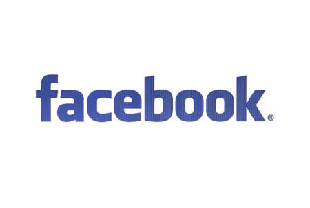 Facebook logo displayed on s computer screen Stock Photo - 16979341
