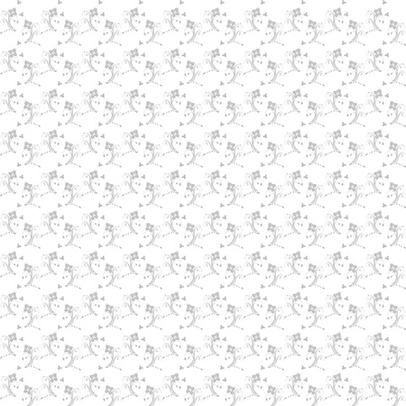 Beautiful background of seamless floral pattern Stock Vector - 17123411