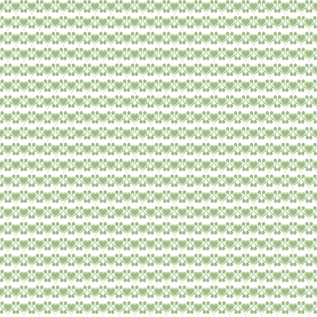 Beautiful background of seamless hearts pattern Vector