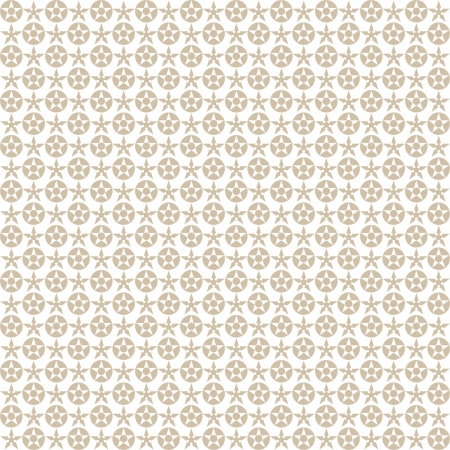 Background of seamless stars pattern Vector