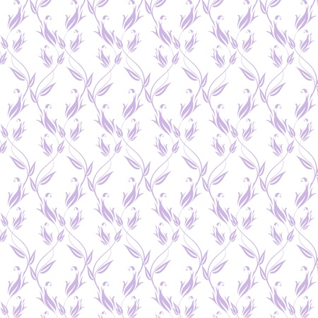 Background of seamless floral pattern Stock Vector - 17587617