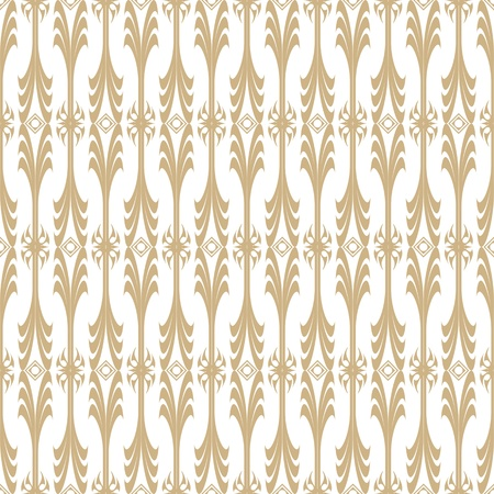 Background of seamless floral pattern Vector