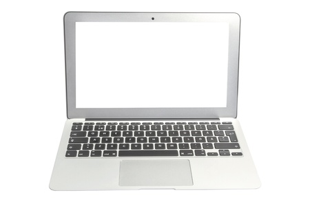 APPLE MAC BOOK AIR Computer Isolated on White