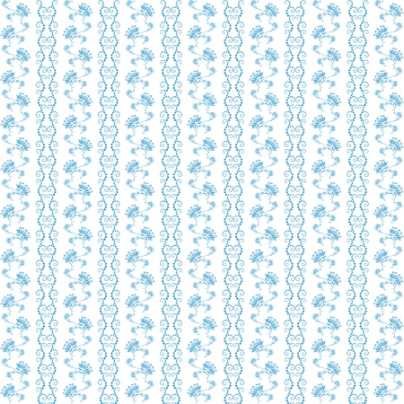 floral backgrounds: Background of seamless floral pattern