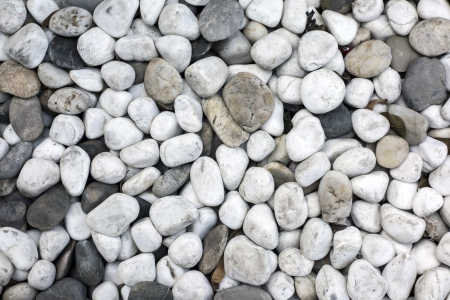 background of white cobblestone closeup photo