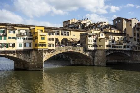 vechio: Ponte Vecchio (Old Bridge) in Florence,Italy