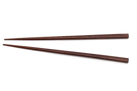 chop stick: chopsticks isolated on white background