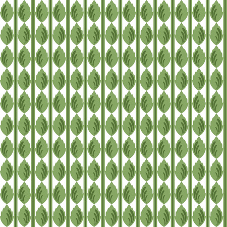 background of seamless leaves pattern  Vector