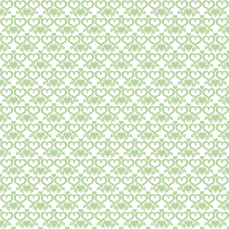Background of seamless heart pattern photo