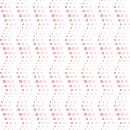 curvature: Background of seamless wavy dots pattern