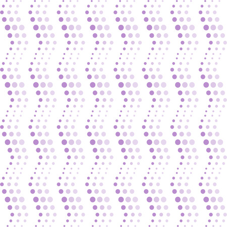Background of seamless wavy dots pattern Vector