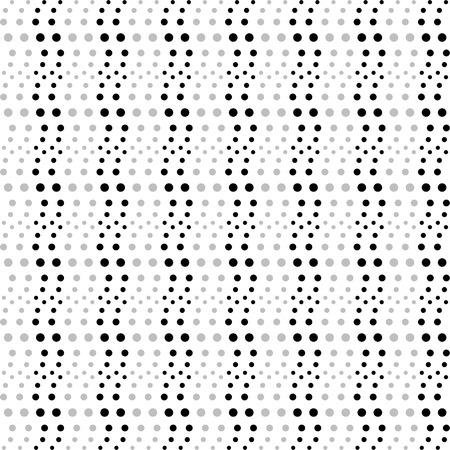 Background of seamless dots pattern Vector