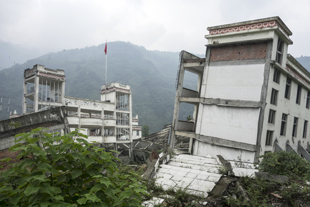 ruination: Damage Buildings of Wenchuan Earthquake,China