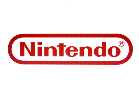 Nintendo logo on a computer screen