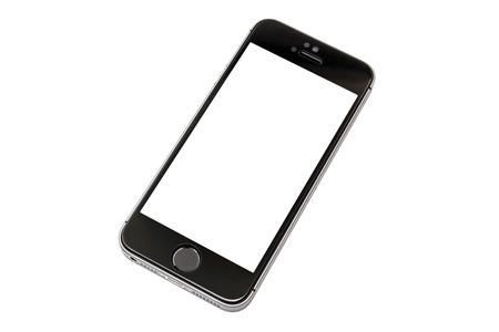 iphone 5s isolated on white background